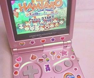 pink, hamtaro, and aesthetic image