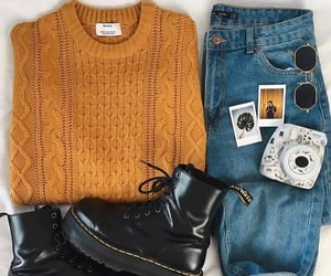 boots and sweater image