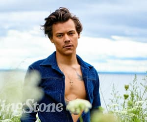 Harry Styles and rolling stone image