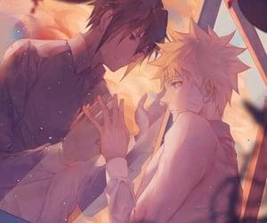 anime, art, and sasunaru image