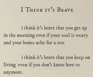brave, relatable, and happy image