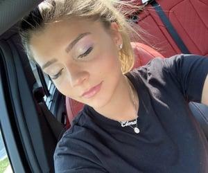 pastel makeup, champagne makeup, and lavender eyeshadow image