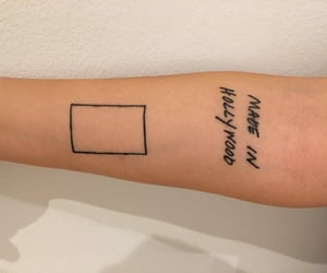 tattoo, the 1975, and matty healy image