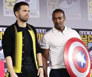 Avengers, captain america, and comic con image