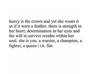 quotes, champion, and crown image