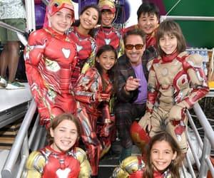 children, costumes, and iron man image