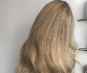 blonde hair, long hair, and long blonde hair image
