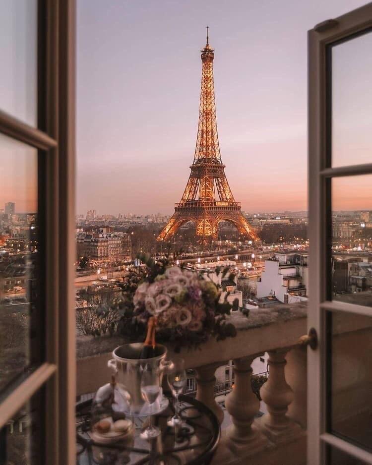 Paris Ville De L Amour On We Heart It