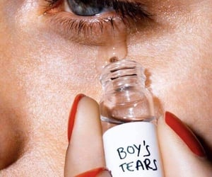 boy, aesthetic, and tears image