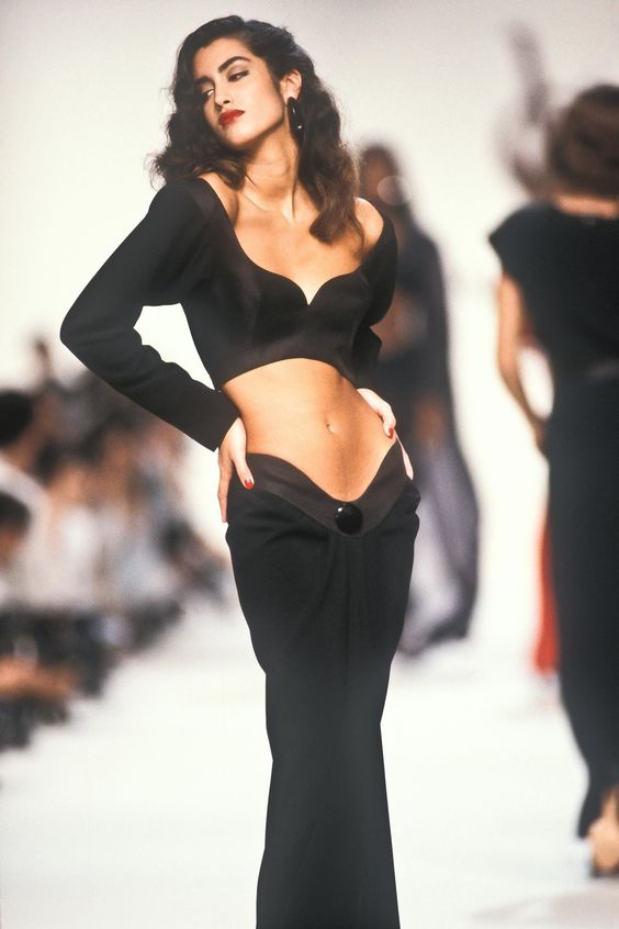 fashion, model, and vintage image
