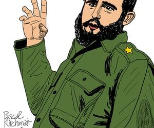 caricatura, drawing, and Havanna image