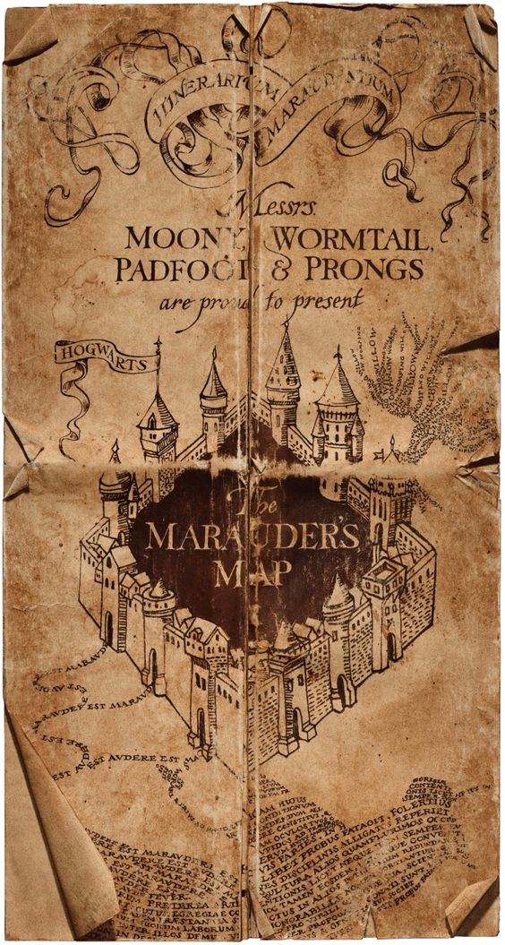 photo relating to Marauders Map Printable Pdf called 1000+ pictures over Marauders Map trending upon We Centre It