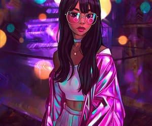 art, girl, and GRL image