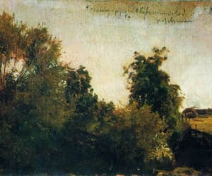 realism, russianart, and levitan image