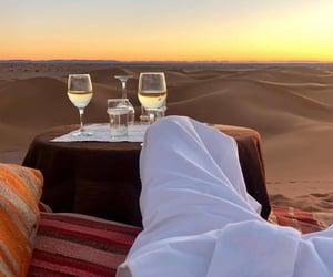 travel, desert, and Dubai image