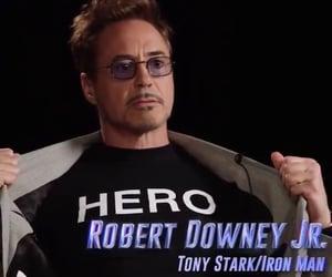 iron man, Marvel, and rdj image
