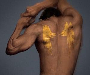 Alas, back, and skin image