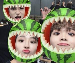 x1, hangyul, and seungyoun image