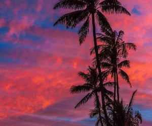 Dream, pink, and sky image