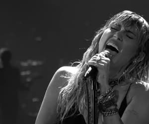 b&w, black and white, and miley cyrus image
