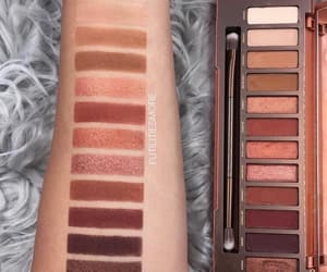 makeup, palette, and eyeshadowpallete image