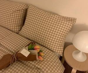 bedroom, interior, and déco image