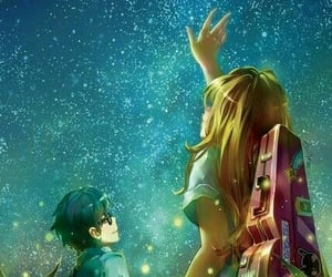 anime, fanart, and your lie in april image