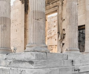 architecture, Greece, and traveling image