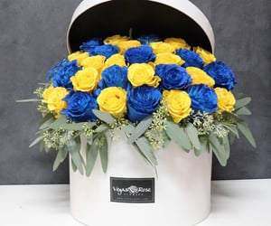 aesthetic, bouquet, and box image