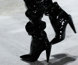 boots, YSL, and fashion image