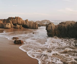 beach, summer, and landscapes image