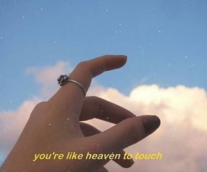 aesthetic, quotes, and heaven image