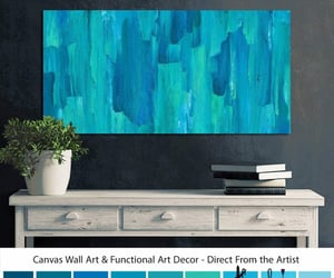 etsy, modern contemporary, and master bedroom wall image