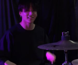 drums, icon, and purple image