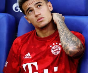 soccer, bayern munchen, and philippe coutinho image