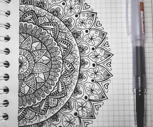 black, dibujo, and dibujos image