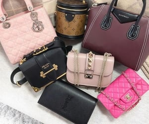 bags, Prada, and chanel image