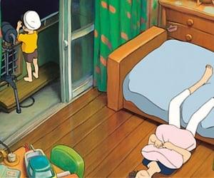 anime, Hayao Miyazaki, and 崖の上のポニョ image