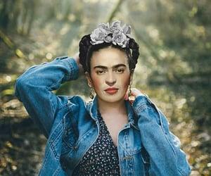 art, photoshop, and frida kahlo image