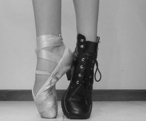 ballet, black, and black and white image