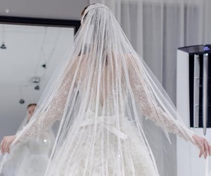bride, dreamwedding, and Couture image