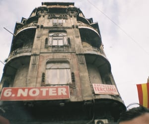 architecture, lomography, and Art Nouveau image