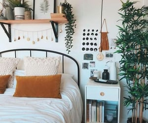 bedroom, design, and home aesthetics image