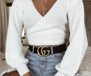fashion, outfit, and gucci image