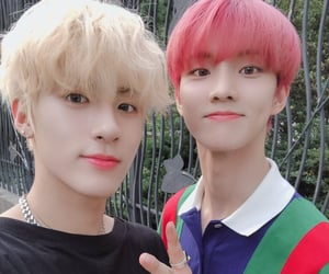 eric, Q, and younghoon image