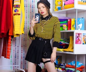 90s, fashion, and outtfit image