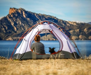 article, camping, and hiking image