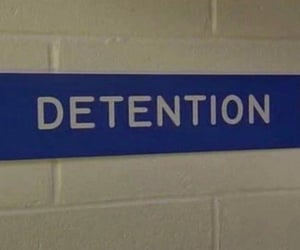 detention and school image