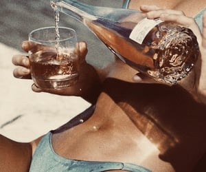 summer, vintage, and bikini image