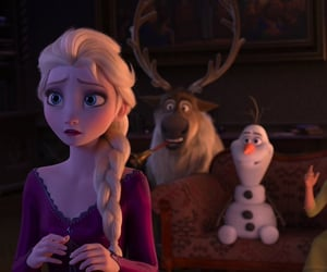 animation, disney, and frozen image